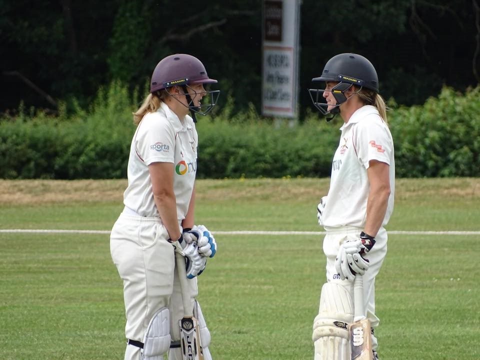 Oxford University beat Army Ladies Cricket in their last preparation match before Inter-Services.