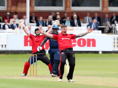 Who -  When -  Where -  What -  Why -  The ArmyÕs cricketers returned to LordÕs for the annual Inter-Services Twenty20 Championships. After beating the Royal Navy in the opening match the soldiers suffered a disappointing defeat to the Royal Air Force in the tournament final. The RAF batted first and posted a total of 147 but the Reds could only manage 105-6 in reply.